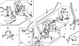 CONTROL (2) для двигателя HONDA GXV140 N1GE
