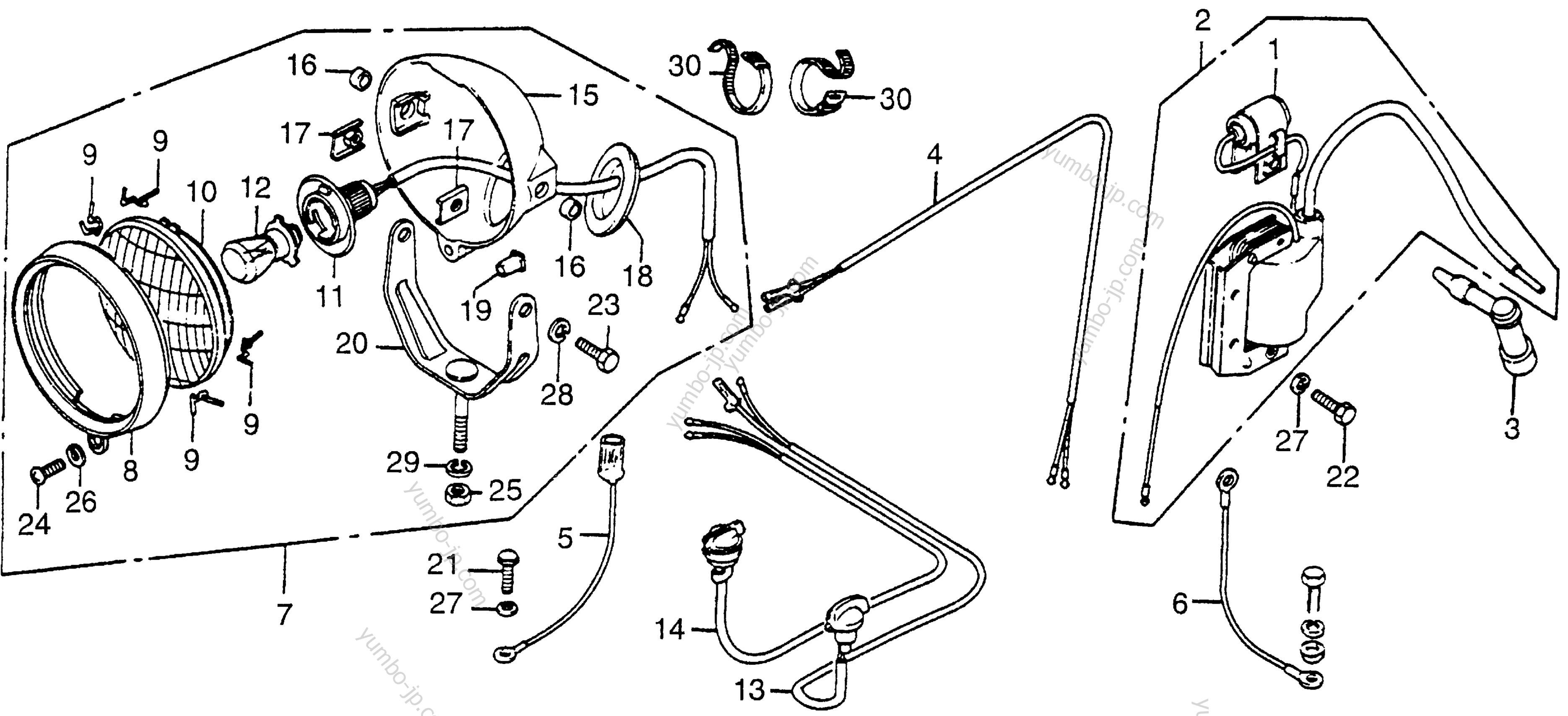 Wiring Diagram 1984 Honda Fl250 Odyssey Gas Tank Simple Site Harness Explained