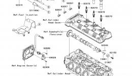 IGNITION SYSTEM для гидроцикла KAWASAKI JET SKI ULTRA 300X (JT1500HCFA) 2012 г.