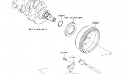 GENERATOR для гидроцикла KAWASAKI JET SKI ULTRA 300X (JT1500HCFA) 2012 г.