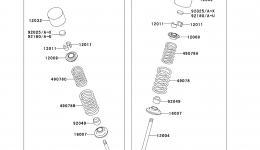 Valve(s) для гидроцикла KAWASAKI JET SKI ULTRA 300X (JT1500HCFA) 2012 г.