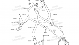 Bilge System для гидроцикла KAWASAKI JET SKI STX-15F (JT1500AGF) 2016 г.