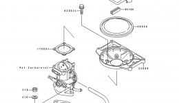 Flame Arrester для гидроцикла KAWASAKI JS550-B1 1990 г.