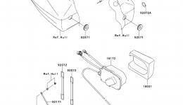 CONTROL для гидроцикла KAWASAKI JET SKI ULTRA 300X (JT1500HDF) 2013 г.
