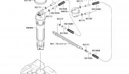 Топливный насос для гидроцикла KAWASAKI JET SKI STX-15F (JT1500ABF) 2011 г.