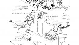 Electrical Equipment для гидроцикла KAWASAKI JET SKI STX-15F (JT1500AGF) 2016 г.