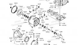 Jet Pump для гидроцикла KAWASAKI JET SKI ULTRA 310X (JT1500PEF) 2014 г.