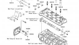 IGNITION SYSTEM для гидроцикла KAWASAKI JET SKI ULTRA 300X (JT1500HDF) 2013 г.