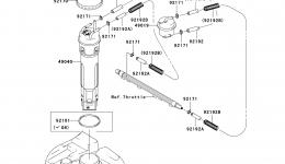 Топливный насос для гидроцикла KAWASAKI JET SKI STX-15F (JT1500A7F) 2007 г.
