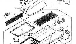 HULL/ENGINE HOOD (JS550-A6/A7)