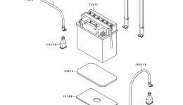 Electrical Equipment для гидроцикла KAWASAKI JS550-B1 1990 г.