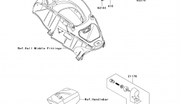 METERS для гидроцикла KAWASAKI JET SKI ULTRA LX (JT1500C7F) 2007 г.