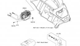 METERS для гидроцикла KAWASAKI JET SKI ULTRA 260LX (JT1500F9F)2009 г.