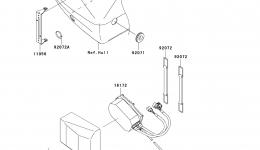 CONTROL для гидроцикла KAWASAKI JET SKI ULTRA 300X (JT1500HCFA) 2012 г.