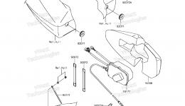 CONTROL для гидроцикла KAWASAKI JET SKI ULTRA 310X (JT1500PEF) 2014 г.