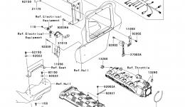 Fuel Injection для гидроцикла KAWASAKI JET SKI ULTRA 300X (JT1500HDF) 2013 г.