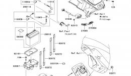 Electrical Equipment для гидроцикла KAWASAKI JET SKI ULTRA 300X (JT1500HCFA) 2012 г.