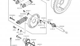 GENERATOR для гидроцикла KAWASAKI JS550-B1 1990 г.