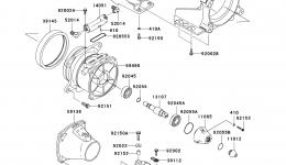 Jet Pump для гидроцикла KAWASAKI JET SKI STX (JT1500DAF) 2010 г.