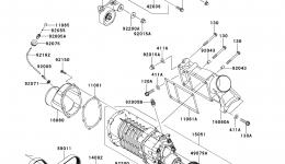 Super Charger для гидроцикла KAWASAKI JET SKI ULTRA 300X (JT1500HDF) 2013 г.