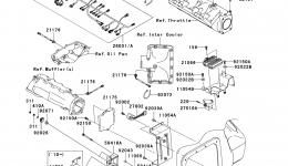 Fuel Injection для гидроцикла KAWASAKI JET SKI ULTRA 260X (JT1500E9F) 2009 г.