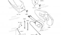CONTROL для гидроцикла KAWASAKI JET SKI ULTRA 310LX (JT1500MGF) 2016 г.