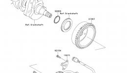 GENERATOR для гидроцикла KAWASAKI JET SKI STX-15F (JT1500ADF)2013 г.