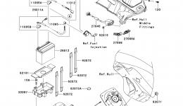 Electrical Equipment для гидроцикла KAWASAKI JET SKI ULTRA 300X (JT1500HDF) 2013 г.
