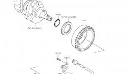 GENERATOR для гидроцикла KAWASAKI JET SKI ULTRA LX (JT1500KCF) 2012 г.
