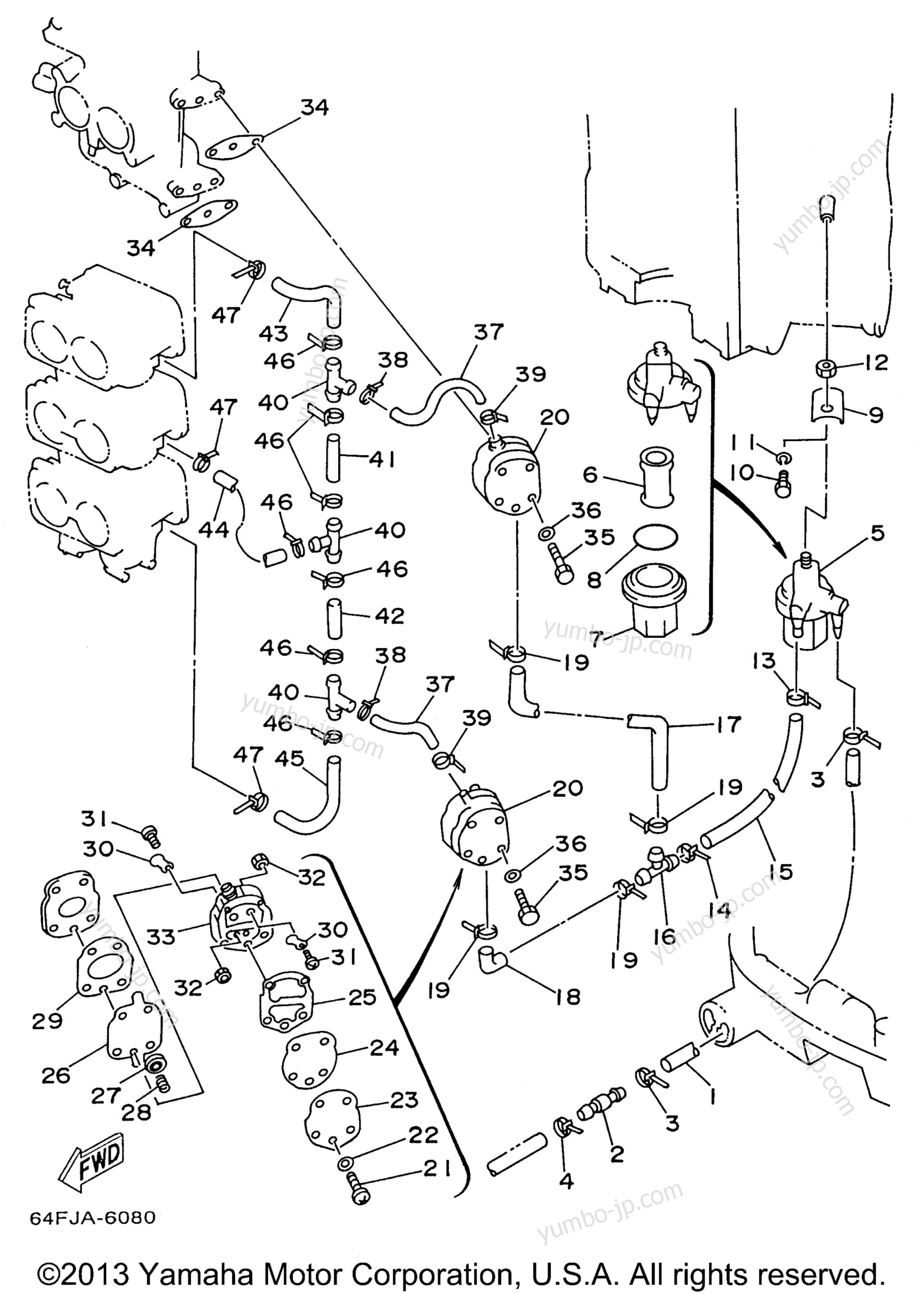 Схема топливной системы л 200